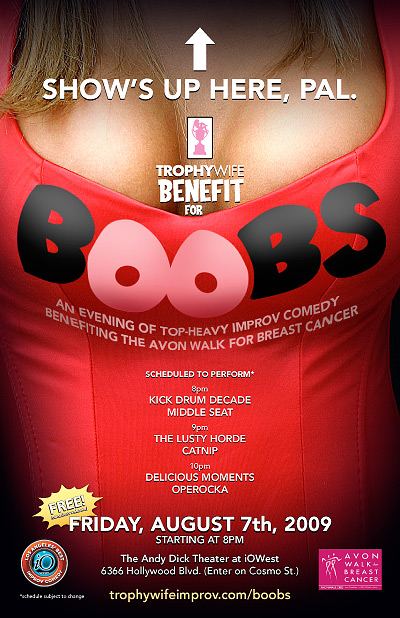Trophy Wife Benefit for Boobs poster