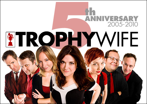 Trophy Wife 5th Anniversary - April 7th 9pm @ iOWest