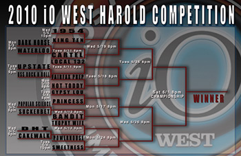Harold Competition brackets