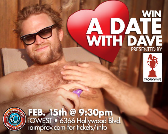 Win a Date with Dave Park on Feb. 15th