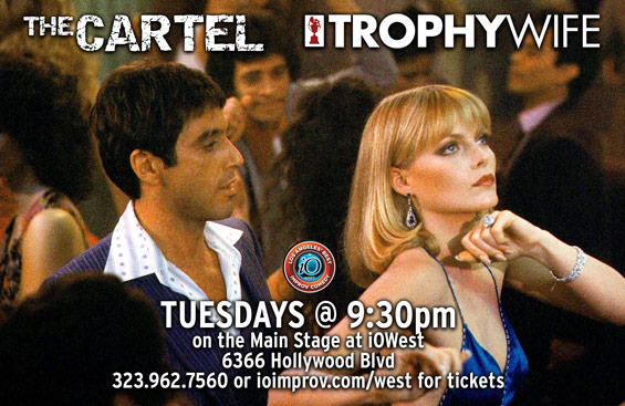 Trophy Wife & The Cartel Wednesdays at 9:30pm at iOWest